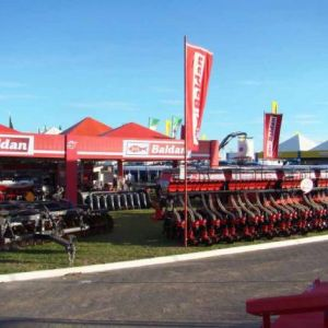 Frente do Stand da Baldan na Bahia Farm Show 2013.