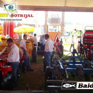Interior do Stand Baldan na Expodireto Cotrijal 2014.